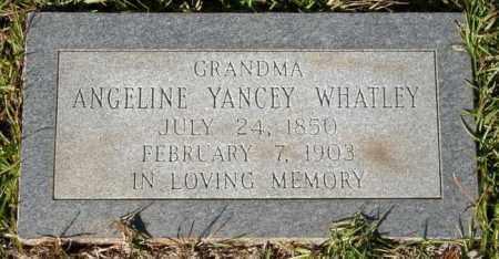 WHATLEY, ANGELINE - La Salle County, Louisiana   ANGELINE WHATLEY - Louisiana Gravestone Photos