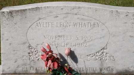 WHATLEY, AYLIFE LEON - La Salle County, Louisiana | AYLIFE LEON WHATLEY - Louisiana Gravestone Photos