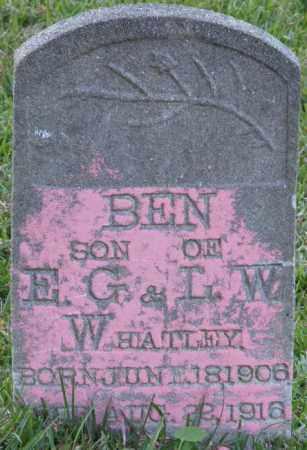 WHATLEY, BEN - La Salle County, Louisiana   BEN WHATLEY - Louisiana Gravestone Photos