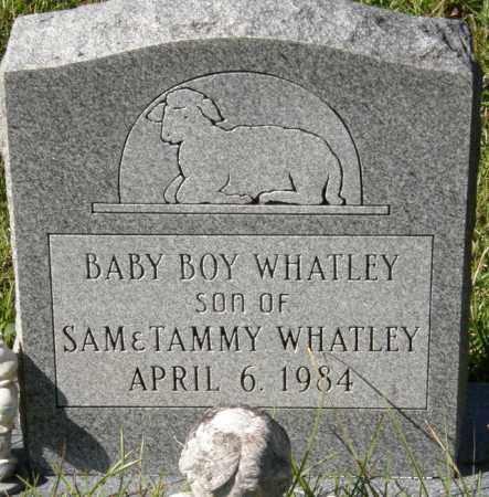 WHATLEY, INFANT SON - La Salle County, Louisiana | INFANT SON WHATLEY - Louisiana Gravestone Photos