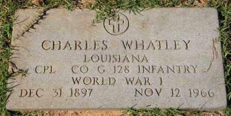 WHATLEY, CHARLES (VETERAN WWI) - La Salle County, Louisiana | CHARLES (VETERAN WWI) WHATLEY - Louisiana Gravestone Photos
