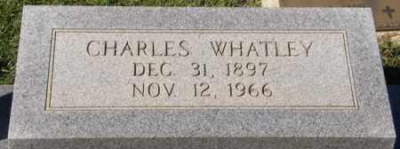 WHATLEY, CHARLES - La Salle County, Louisiana | CHARLES WHATLEY - Louisiana Gravestone Photos