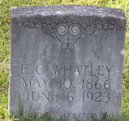 WHATLEY, E G - La Salle County, Louisiana | E G WHATLEY - Louisiana Gravestone Photos