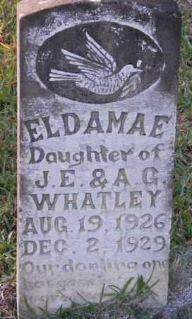 WHATLEY, ELDAMAE - La Salle County, Louisiana   ELDAMAE WHATLEY - Louisiana Gravestone Photos