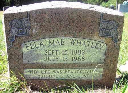 WHATLEY, ELLA MAE - La Salle County, Louisiana   ELLA MAE WHATLEY - Louisiana Gravestone Photos