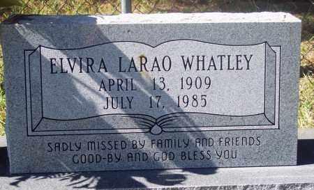 WHATLEY, ELVIRA - La Salle County, Louisiana   ELVIRA WHATLEY - Louisiana Gravestone Photos