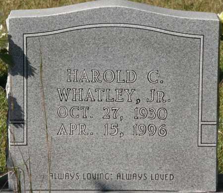 WHATLEY, HAROLD C, JR - La Salle County, Louisiana | HAROLD C, JR WHATLEY - Louisiana Gravestone Photos