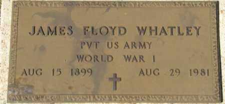 WHATLEY, JAMES FLOYD (VETERAN WWI) - La Salle County, Louisiana   JAMES FLOYD (VETERAN WWI) WHATLEY - Louisiana Gravestone Photos