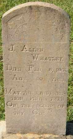 WHATLEY, J  ALLEN - La Salle County, Louisiana | J  ALLEN WHATLEY - Louisiana Gravestone Photos