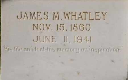 WHATLEY, JAMES M - La Salle County, Louisiana | JAMES M WHATLEY - Louisiana Gravestone Photos