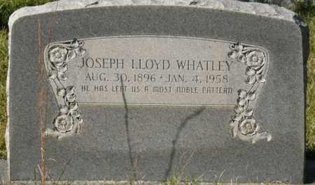 WHATLEY, JOSEPH LLOYD - La Salle County, Louisiana | JOSEPH LLOYD WHATLEY - Louisiana Gravestone Photos