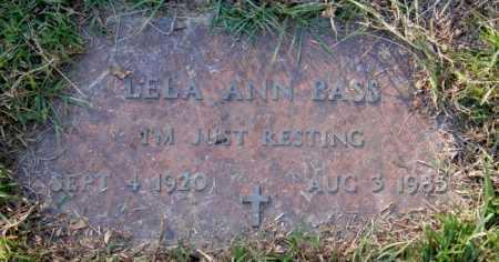 WHATLEY, LELA ANN - La Salle County, Louisiana | LELA ANN WHATLEY - Louisiana Gravestone Photos
