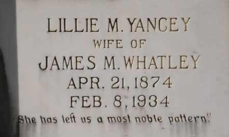 WHATLEY, LILLIE M. - La Salle County, Louisiana | LILLIE M. WHATLEY - Louisiana Gravestone Photos