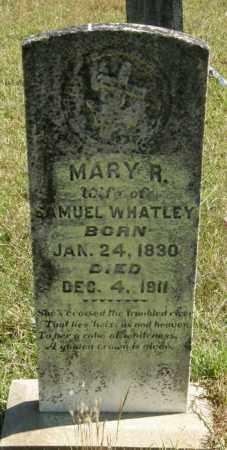 WHATLEY, MARY R - La Salle County, Louisiana | MARY R WHATLEY - Louisiana Gravestone Photos