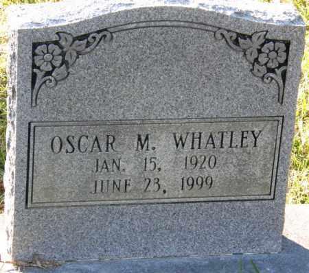 WHATLEY, OSCAR M - La Salle County, Louisiana   OSCAR M WHATLEY - Louisiana Gravestone Photos