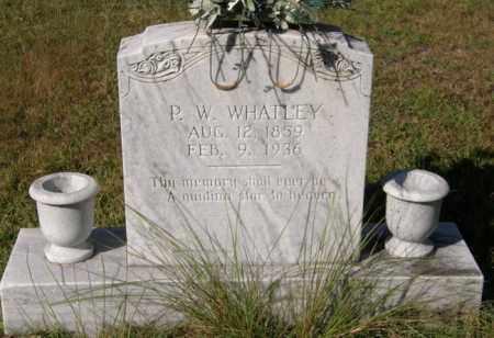 WHATLEY, P W - La Salle County, Louisiana | P W WHATLEY - Louisiana Gravestone Photos