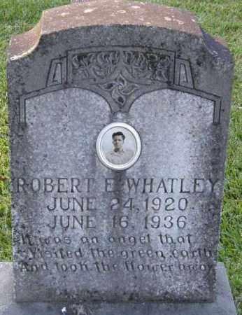 WHATLEY, ROBERT E - La Salle County, Louisiana   ROBERT E WHATLEY - Louisiana Gravestone Photos