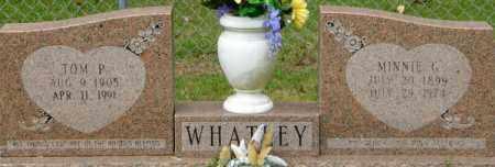 WHATLEY, MINNIE G - La Salle County, Louisiana   MINNIE G WHATLEY - Louisiana Gravestone Photos
