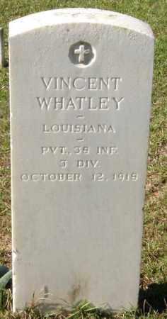 WHATLEY, VINCENT  (VETERAN WWI, KIA) - La Salle County, Louisiana   VINCENT  (VETERAN WWI, KIA) WHATLEY - Louisiana Gravestone Photos