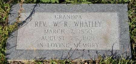 WHATLEY, W R , REV - La Salle County, Louisiana | W R , REV WHATLEY - Louisiana Gravestone Photos