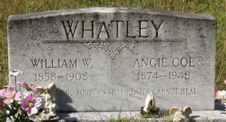 WHATLEY, WILLIAM W - La Salle County, Louisiana | WILLIAM W WHATLEY - Louisiana Gravestone Photos