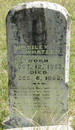 WHATLEY, WILLIAM RILEY - La Salle County, Louisiana   WILLIAM RILEY WHATLEY - Louisiana Gravestone Photos