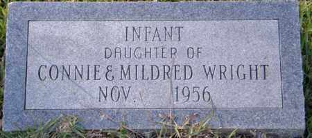 WRIGHT, INFANT DAUGHTER - La Salle County, Louisiana | INFANT DAUGHTER WRIGHT - Louisiana Gravestone Photos
