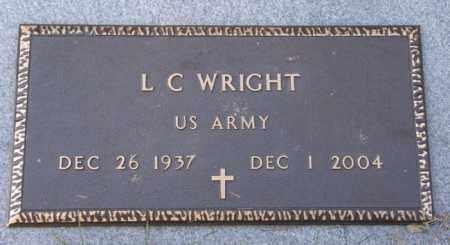 WRIGHT, L. C (VETERAN) - La Salle County, Louisiana | L. C (VETERAN) WRIGHT - Louisiana Gravestone Photos