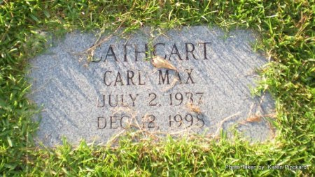 CATHCART, CARL MAX - Lafayette County, Louisiana | CARL MAX CATHCART - Louisiana Gravestone Photos