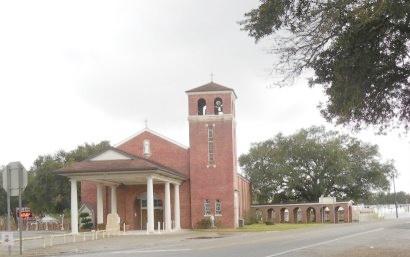 * CHURCH`,  - Lafourche County, Louisiana    * CHURCH` - Louisiana Gravestone Photos