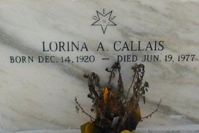 AUTIN CALLAIS, LORINA - Lafourche County, Louisiana | LORINA AUTIN CALLAIS - Louisiana Gravestone Photos
