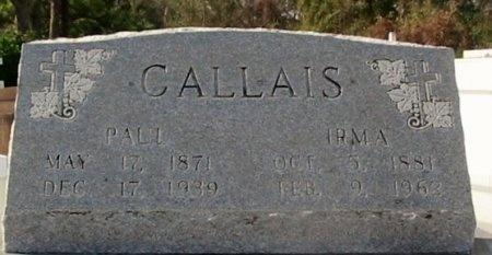 GUIDRY CALLAIS, IRMA MARIE - Lafourche County, Louisiana   IRMA MARIE GUIDRY CALLAIS - Louisiana Gravestone Photos