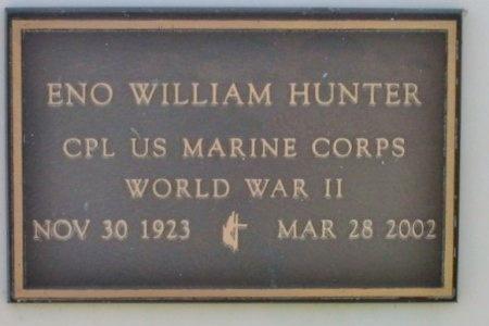 HUNTER, ENO WILLIAM  (VETERAN WWII) - Lafourche County, Louisiana   ENO WILLIAM  (VETERAN WWII) HUNTER - Louisiana Gravestone Photos