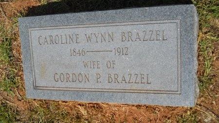 BRAZZEL, CAROLINE - Lincoln County, Louisiana | CAROLINE BRAZZEL - Louisiana Gravestone Photos