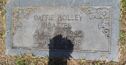 BRAZZEL, DAFFIE - Lincoln County, Louisiana | DAFFIE BRAZZEL - Louisiana Gravestone Photos