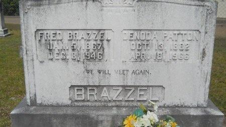 BRAZZEL, DENODA - Lincoln County, Louisiana | DENODA BRAZZEL - Louisiana Gravestone Photos
