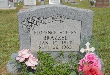 BRAZZEL, FLORENCE - Lincoln County, Louisiana | FLORENCE BRAZZEL - Louisiana Gravestone Photos