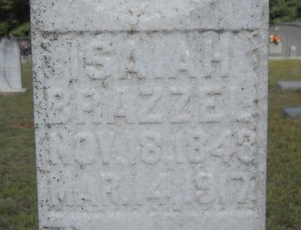 BRAZZEL, ISAIAH (CLOSE UP) - Lincoln County, Louisiana   ISAIAH (CLOSE UP) BRAZZEL - Louisiana Gravestone Photos