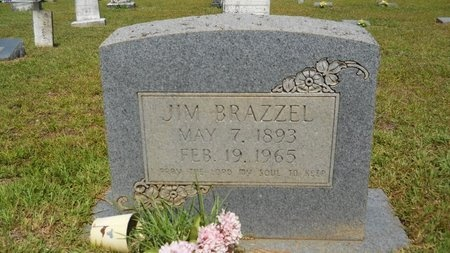 BRAZZEL, JIM - Lincoln County, Louisiana | JIM BRAZZEL - Louisiana Gravestone Photos