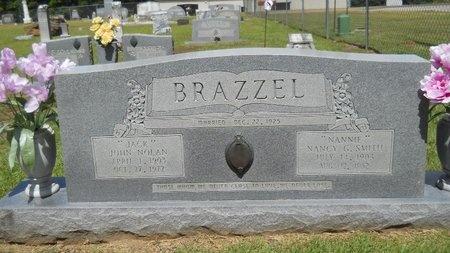 "BRAZZEL, NANCY G ""NANNIE"" - Lincoln County, Louisiana | NANCY G ""NANNIE"" BRAZZEL - Louisiana Gravestone Photos"