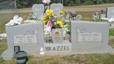 BRAZZEL, MALVIN JOLEE - Lincoln County, Louisiana | MALVIN JOLEE BRAZZEL - Louisiana Gravestone Photos