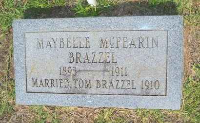 BRAZZEL, MAYBELLE - Lincoln County, Louisiana | MAYBELLE BRAZZEL - Louisiana Gravestone Photos