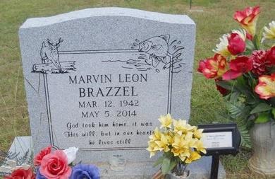 BRAZZEL, MARVIN LEON - Lincoln County, Louisiana   MARVIN LEON BRAZZEL - Louisiana Gravestone Photos