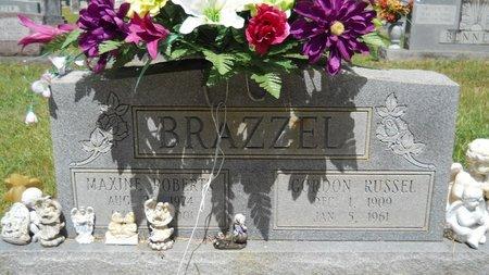 BRAZZEL, MAXINE - Lincoln County, Louisiana   MAXINE BRAZZEL - Louisiana Gravestone Photos