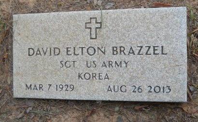 BRAZZEL, DAVID ELTON (VETERAN KOR) - Lincoln County, Louisiana | DAVID ELTON (VETERAN KOR) BRAZZEL - Louisiana Gravestone Photos