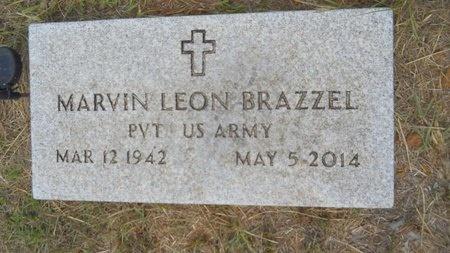 BRAZZEL, MARVIN LEON (VETERAN) - Lincoln County, Louisiana   MARVIN LEON (VETERAN) BRAZZEL - Louisiana Gravestone Photos