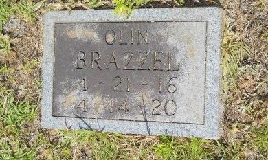 BRAZZEL, OLIN - Lincoln County, Louisiana | OLIN BRAZZEL - Louisiana Gravestone Photos