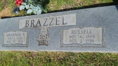 BRAZZEL, SAVANNAH - Lincoln County, Louisiana | SAVANNAH BRAZZEL - Louisiana Gravestone Photos