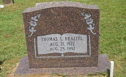 BRAZZEL, THOMAS L - Lincoln County, Louisiana | THOMAS L BRAZZEL - Louisiana Gravestone Photos