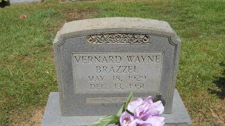 BRAZZEL, VERNARD WAYNE - Lincoln County, Louisiana   VERNARD WAYNE BRAZZEL - Louisiana Gravestone Photos